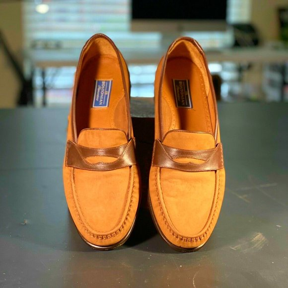 MEN'S BOSTONIAN FLORENTINE LOAFERS SIZE 9